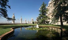 Het paleis van Dolmabahce in Istanboel Royalty-vrije Stock Foto's