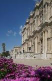 Het paleis van Dolmabahce in Istanboel Stock Foto