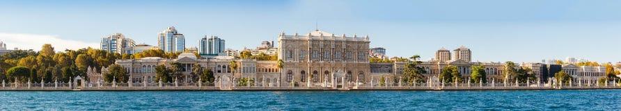 Het paleis van Dolmabahce, Istanboel Royalty-vrije Stock Afbeeldingen