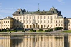 Het paleis van Drottningholm Royalty-vrije Stock Afbeeldingen