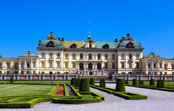 Het paleis van Drottningholm in Stockholm, Royalty-vrije Stock Afbeelding