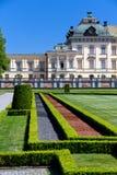 Het paleis van Drottningholm in Stockholm, woonplaats van Th Royalty-vrije Stock Fotografie