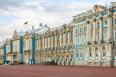 Het paleis van Ekaterininskiy (Tsarskoe Selo) Stock Foto's