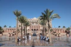 Het Paleis van emiraten in Abu Dhabi Royalty-vrije Stock Afbeeldingen
