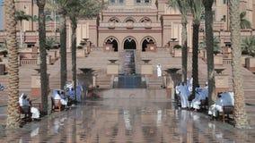 Het Paleis van emiraten in Abu Dhabi Royalty-vrije Stock Foto's
