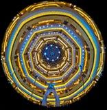 Het Paleis van emiraten, Abu Dhabi, Verenigde Arabische Emiraten Royalty-vrije Stock Foto's