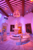 Het Paleis van Falaknuma, beeldhouwwerk, Hyderabad Stock Afbeeldingen