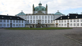 Het Paleis van Fredensborg Stock Foto