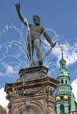 Het paleis van Frederiksborg Stock Afbeeldingen