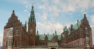 Het Paleis van Frederiksborg Stock Foto's