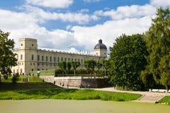 Het paleis van Gatchina Stock Foto's