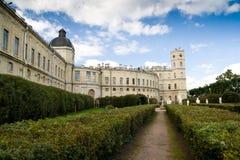 Het paleis van Gatchina Royalty-vrije Stock Foto's