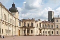 Het paleis van Gatchina Royalty-vrije Stock Afbeeldingen