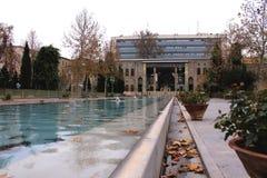 Het paleis van Golestan, Teheran, Iran Stock Afbeelding