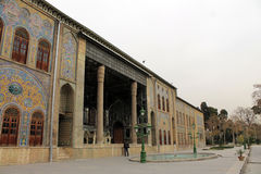 Het paleis van Golestan, Teheran, Iran Royalty-vrije Stock Afbeeldingen