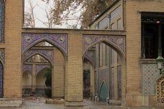 Het paleis van Golestan, Teheran, Iran Stock Foto's