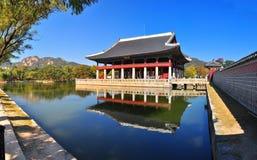 Het paleis van Gyeongbokgung Stock Foto