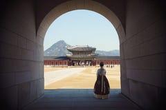Het Paleis van Gyeongbokgung royalty-vrije stock fotografie