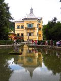 Het Paleis van Hellbrunn - Salzburg, Oostenrijk royalty-vrije stock fotografie