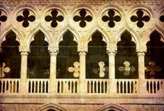 Het paleis van Hertogen - Venetië stock afbeelding