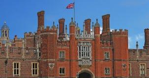 Het Paleis van het Hampton Court stock afbeeldingen