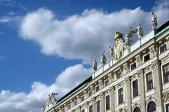 Het Paleis van het Koninklijke Hof van Wenen in Oostenrijk Royalty-vrije Stock Foto
