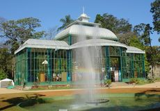 Het paleis van het kristal Royalty-vrije Stock Afbeelding