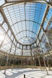 Het Paleis van het kristal in Madrid, Spanje Royalty-vrije Stock Foto's
