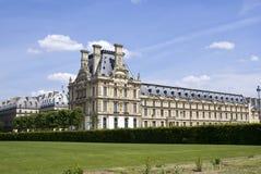 Het paleis van het Louvre Stock Afbeeldingen