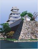 Het paleis van het oosten op de rivieroever Royalty-vrije Stock Afbeelding