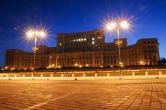 Het Paleis van het Parlement Stock Foto's