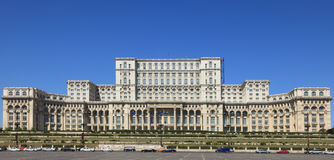 Het paleis van het Parlement, Boekarest, Roemenië Royalty-vrije Stock Afbeeldingen