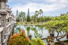 Het Paleis van het Ujungwater, het Eiland van Bali, Indonesië Stock Afbeeldingen