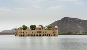 Het Paleis van het water, Jaipur, India Stock Foto
