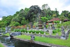 Het Paleis van het water van Tirtaganga Stock Foto