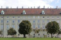 Het Paleis van Hofburg, Wenen, Oostenrijk Stock Fotografie