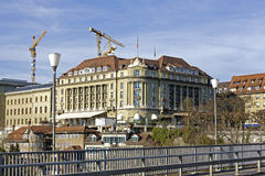 Het Paleis van hotelbellevue in Bern Stock Afbeelding