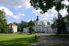 Het paleis van JabÅonna in Warshau, Polen royalty-vrije stock fotografie