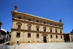 Het Paleis van kettingen, Ubeda, Andalusia, Spanje. royalty-vrije stock afbeelding