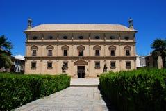 Het Paleis van kettingen, Ubeda, Spanje. stock foto