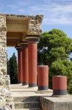 Het paleis van Knoss Stock Foto's