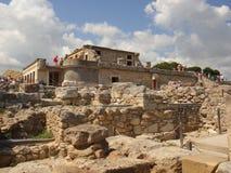 Het paleis van Knossos Royalty-vrije Stock Afbeelding