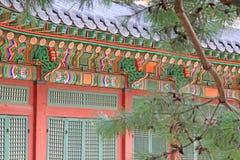 Het Paleis van Korea Deoksugung Stock Fotografie