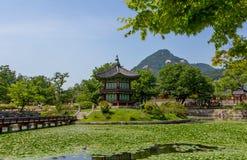Het Paleis van Korea Gyeongbokgung - Seoel 2 Royalty-vrije Stock Afbeeldingen