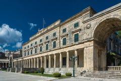 Het Paleis van Korfu van St Michael en George Royalty-vrije Stock Fotografie