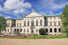 Het Paleis van Krasinskis in Warshau Royalty-vrije Stock Afbeeldingen