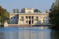 Het Paleis van Lazienki in Warshau Royalty-vrije Stock Afbeeldingen