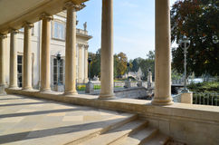Het Paleis van Lazienki in Warshau Royalty-vrije Stock Foto