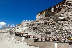 Het Paleis van Leh in Ladakh India Stock Foto's