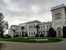 Het paleis van Livadia stock foto